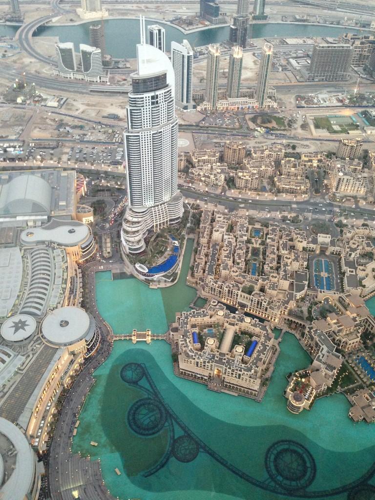 Aussicht von Burj Khalifa