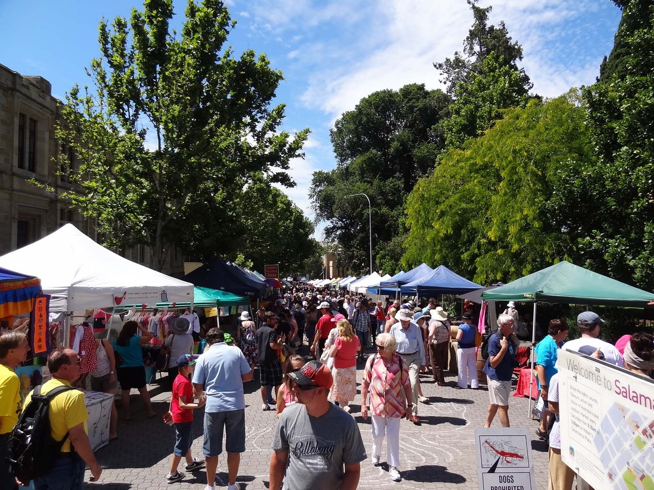 Der Salamanca Market