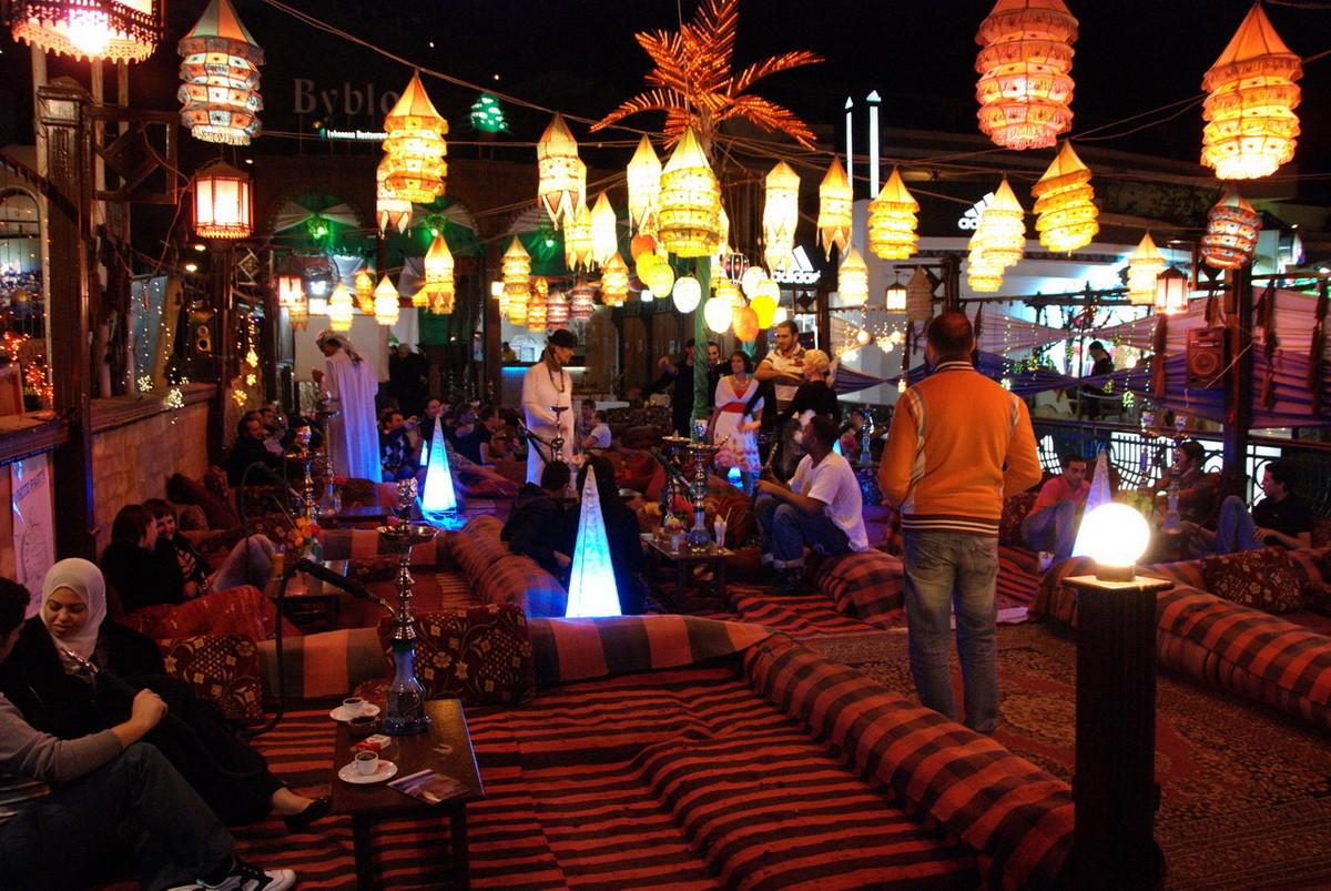 Sisha Restaurants laden zum Verweilen ein