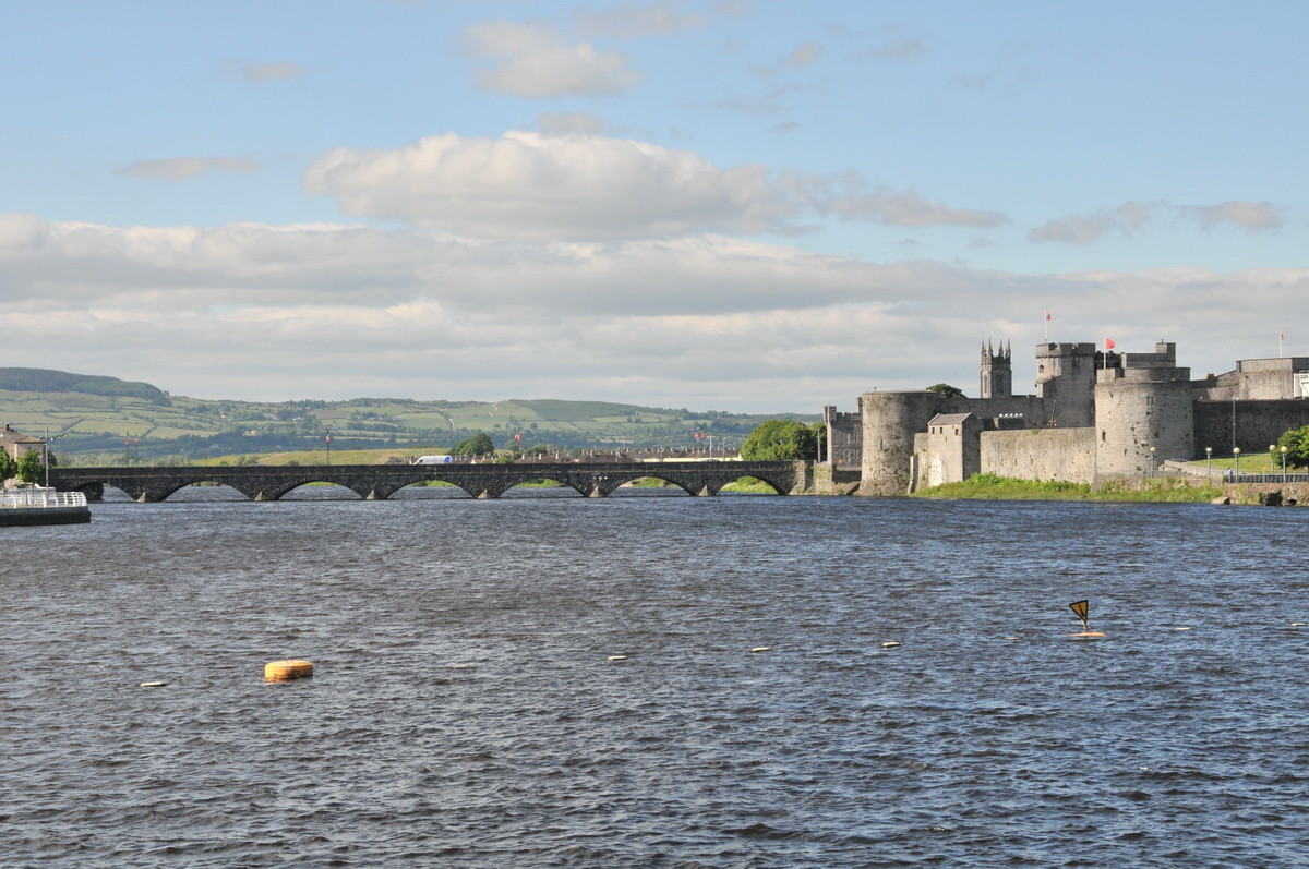 Das KIng John's Castle in Limerick