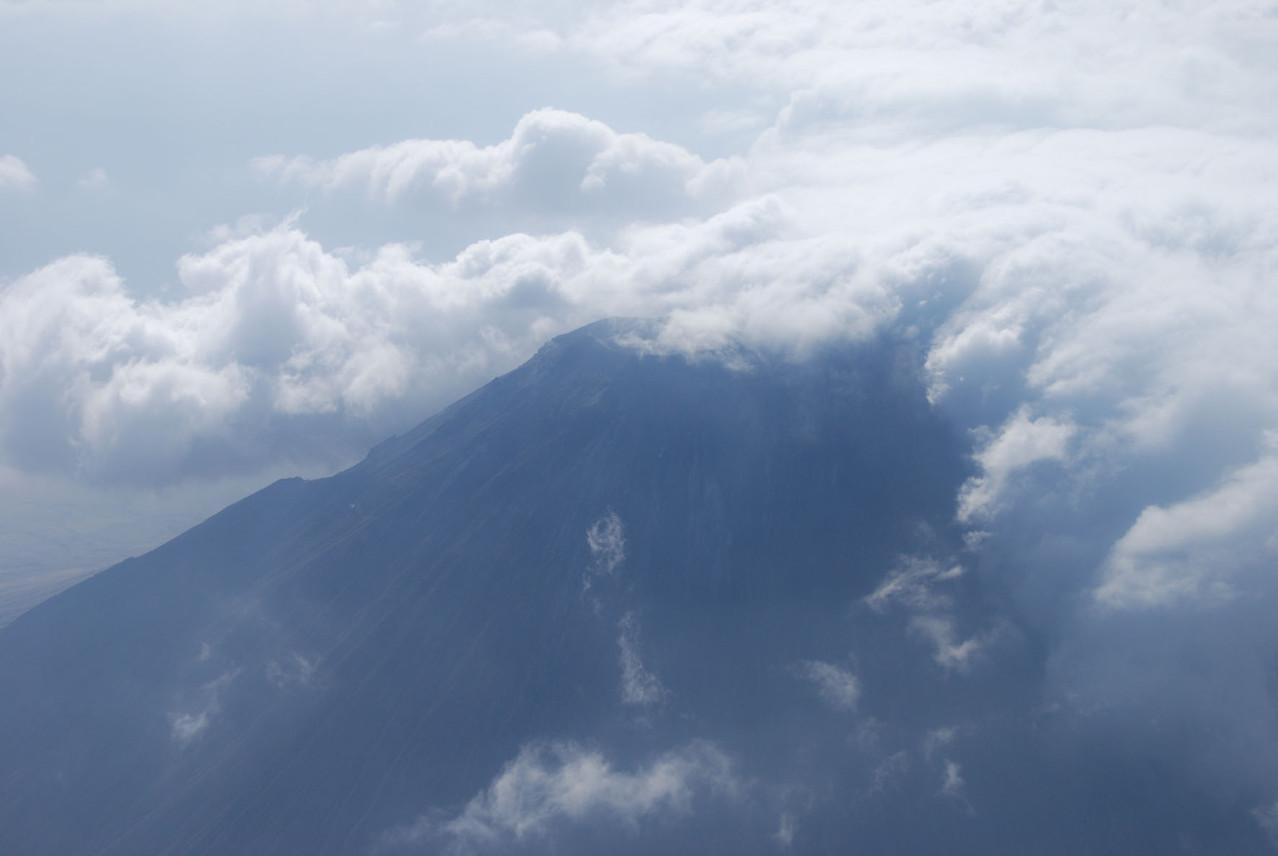 2. Tag - Vorbeiflug am Kilimandscharo