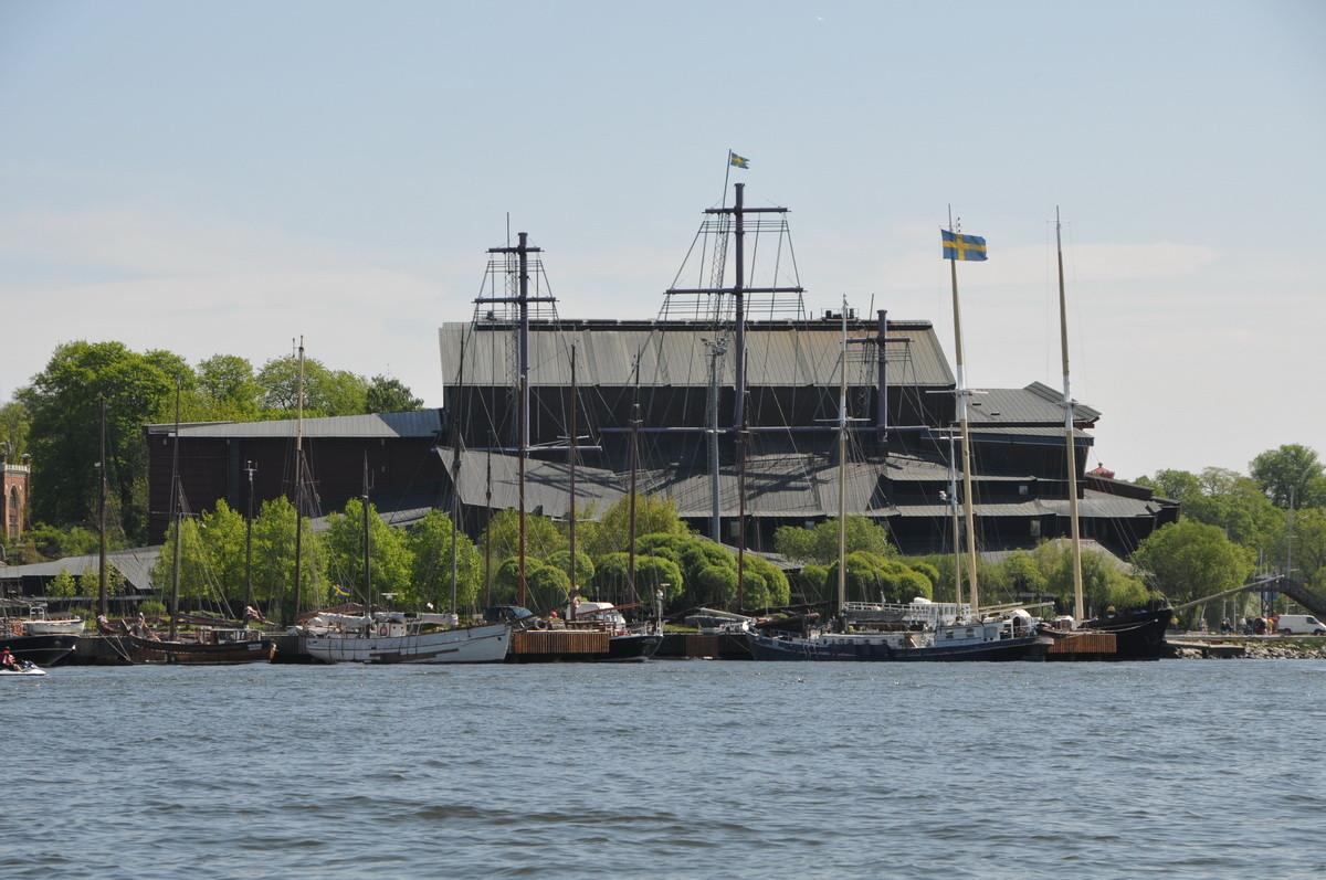 Halt auf der Insel Djurgården