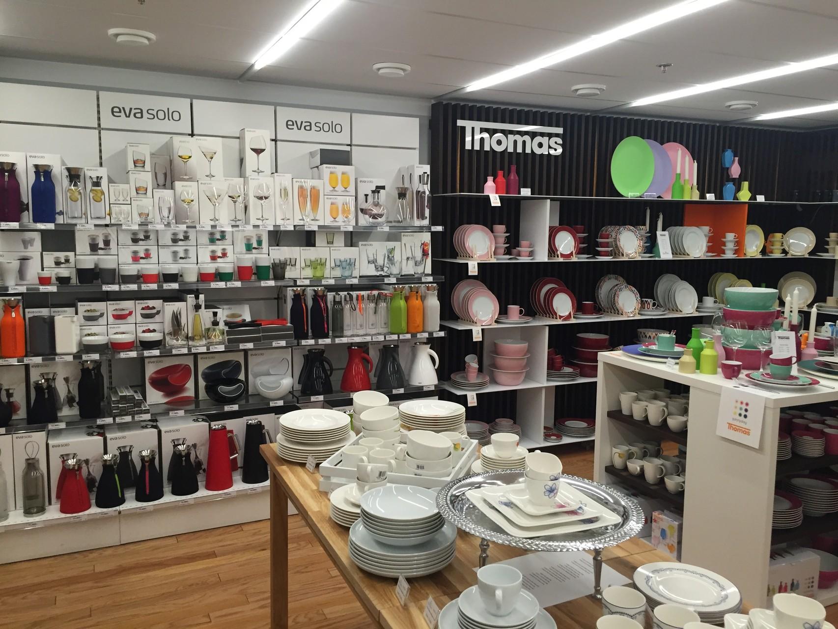 Einkaufstour auf nordisch im Kinglan Shopping Center