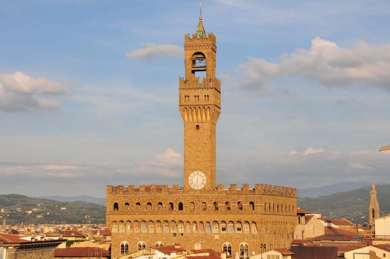 """""""Palazzo Vecchio"""" von der Hotel-Terrasse"""