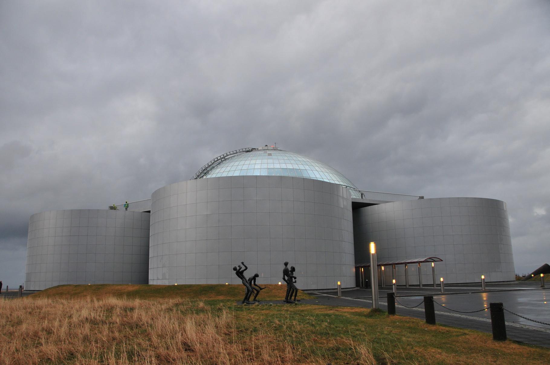 Die Perle - Der Warmwasserspeicher von Reykjavik