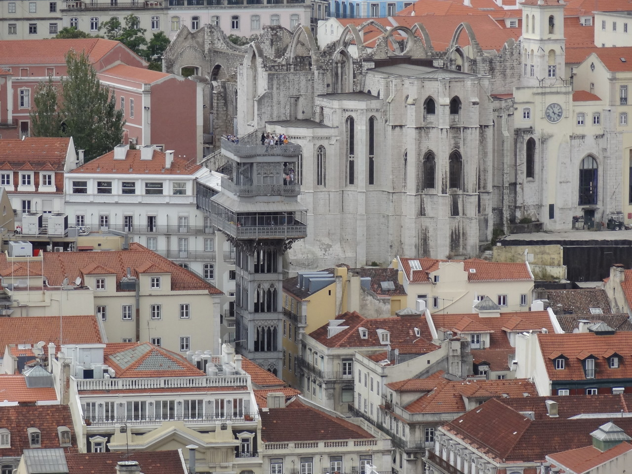 Blick vom Castelo de Sao Jorge