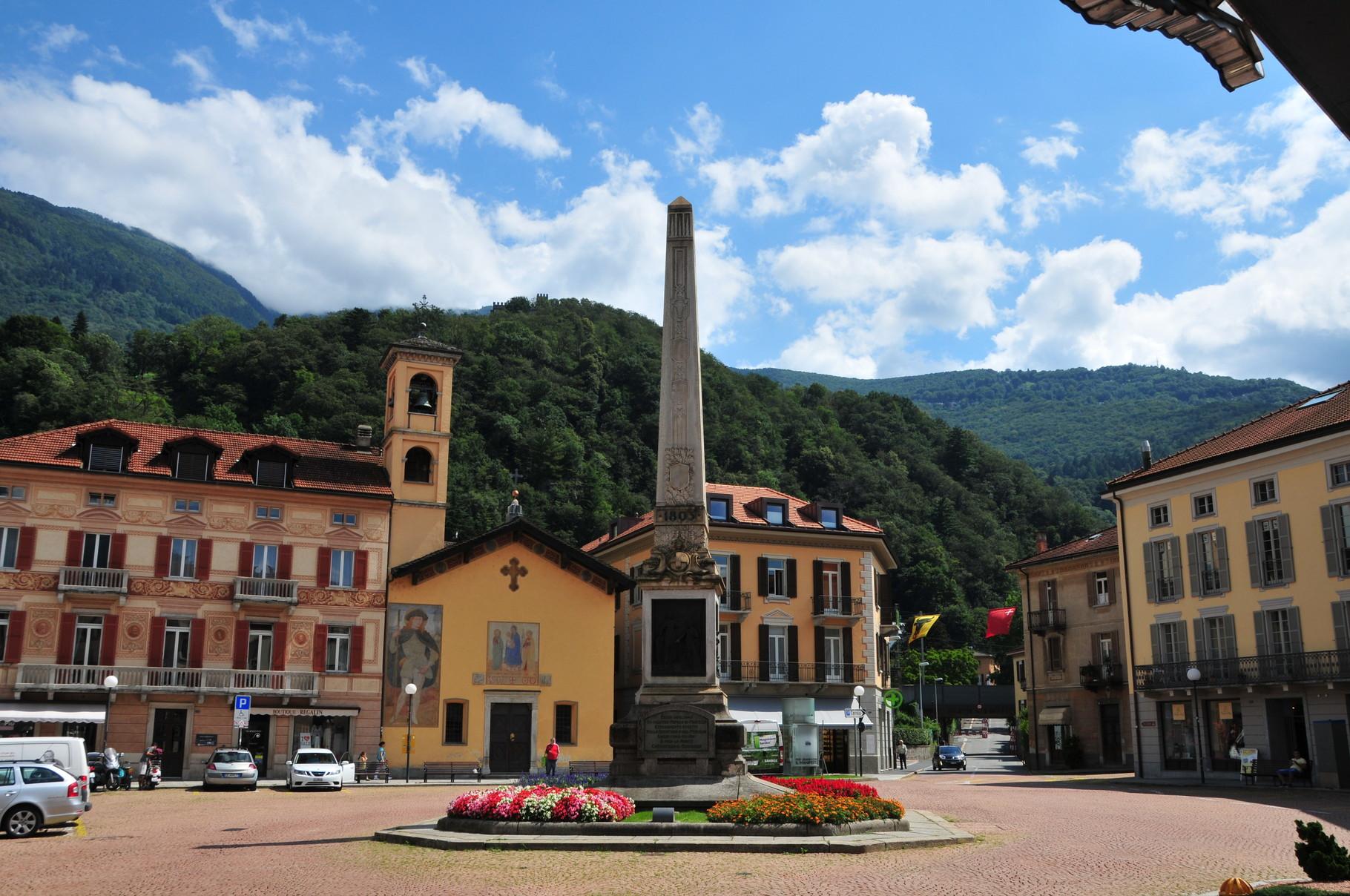 Chiesa San Rocco, Piazza Indipendenza, Bellinzona