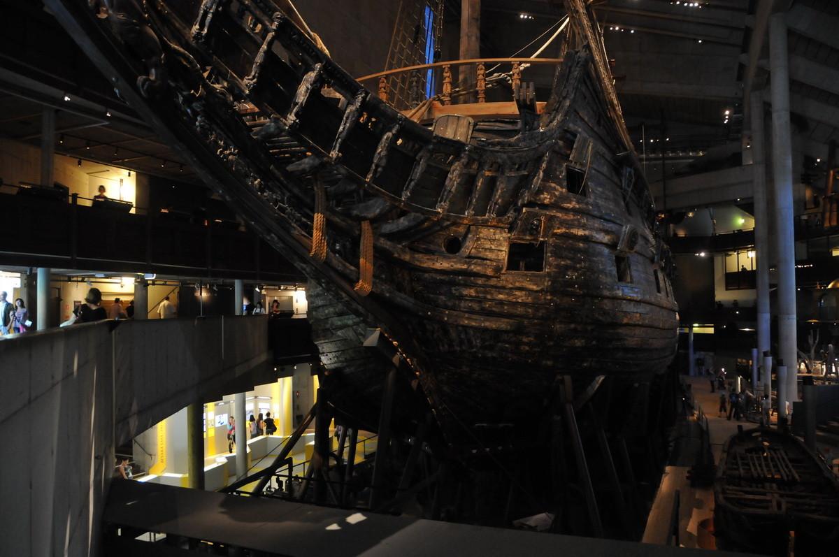 und Besichtigung des Vasa Museum