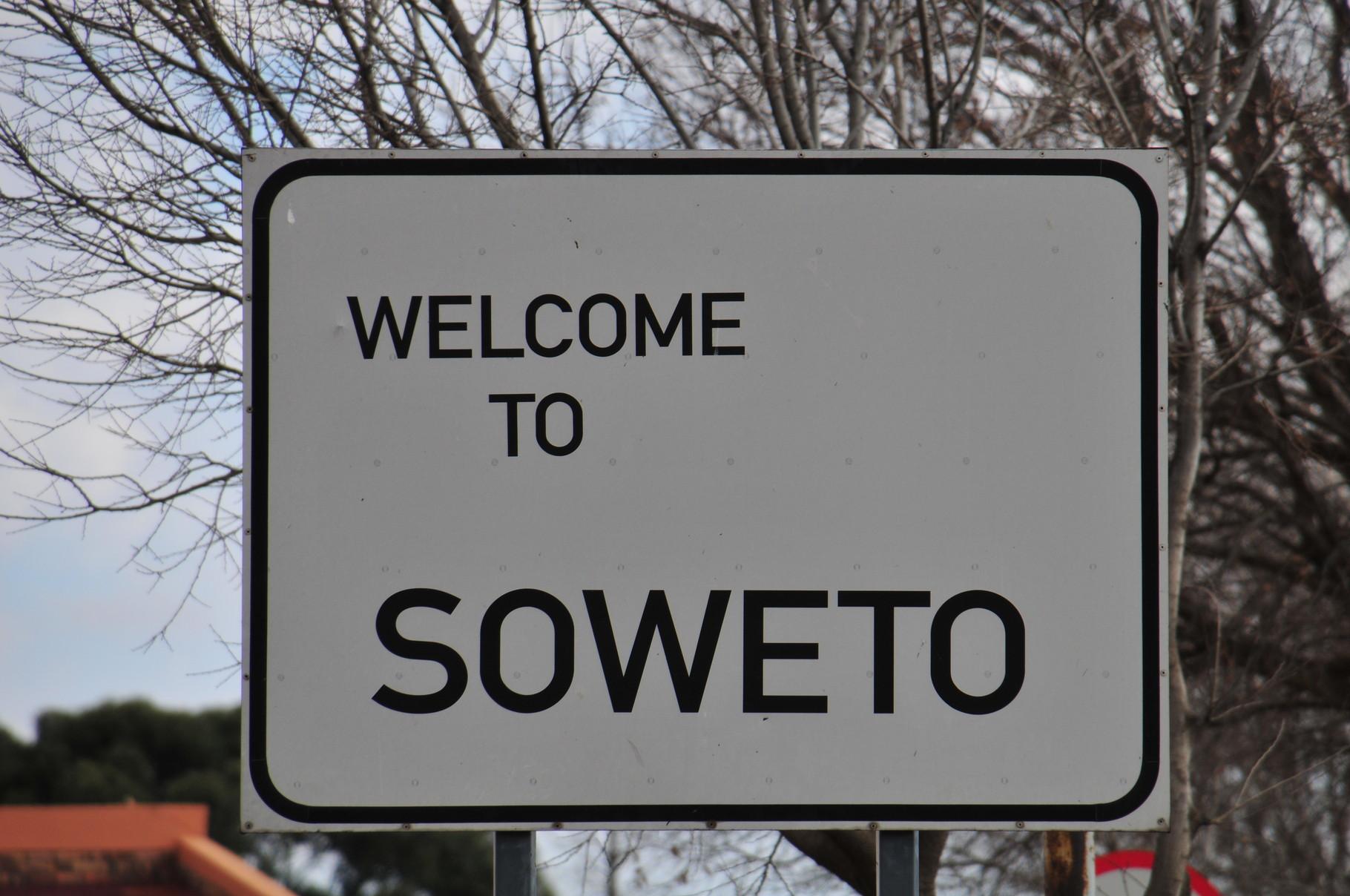 Auf der Soweto Tour