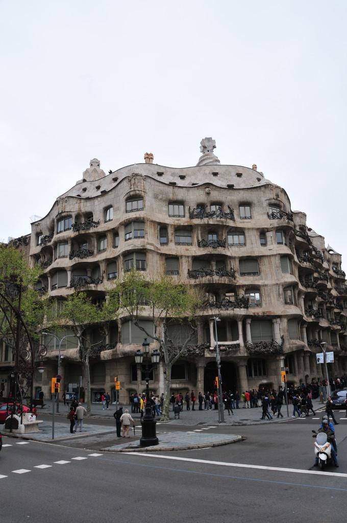 """""""La Pedrera"""" von Gaudi"""