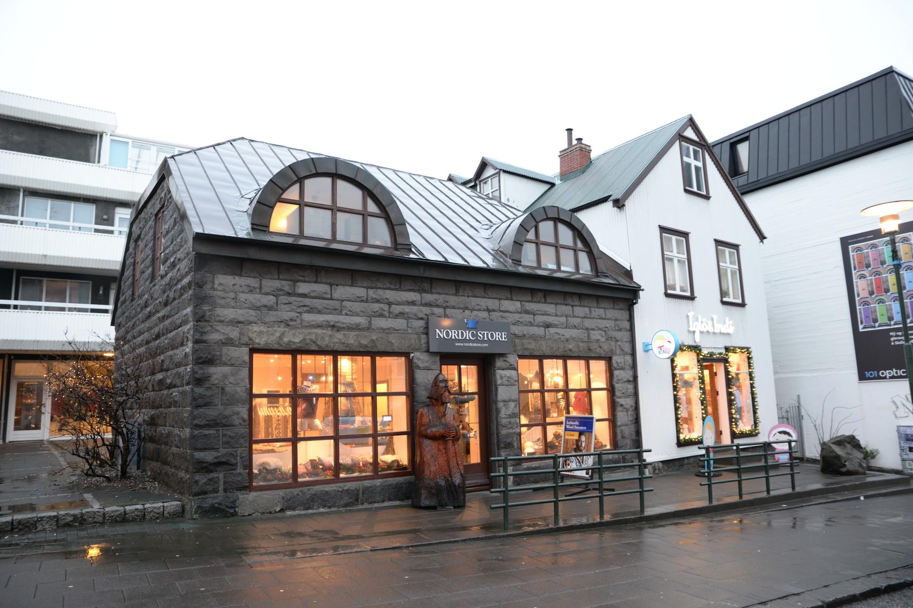 Typisch nordische Bauten