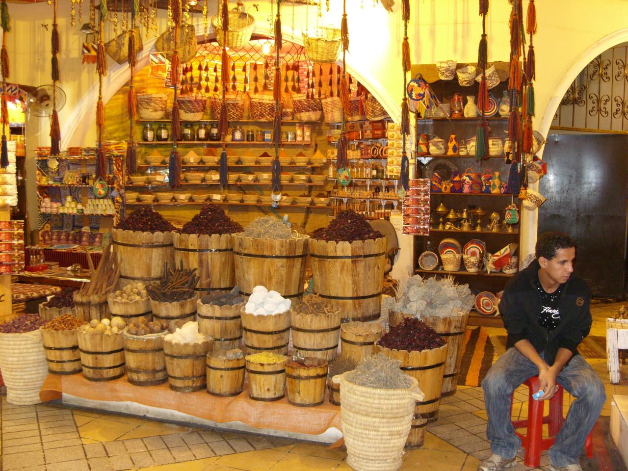 Kräuter und Parfume locken in die Einkaufscenter
