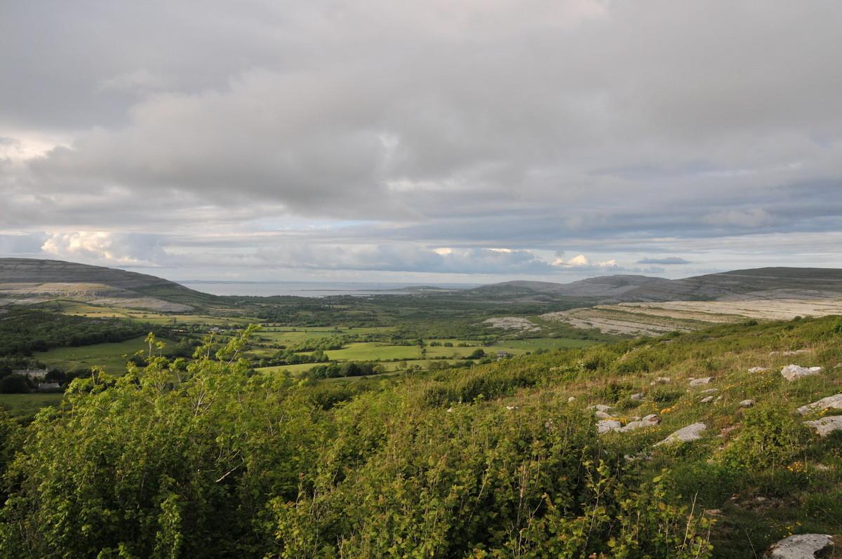 Der Weg führt uns weiter über den Burren...