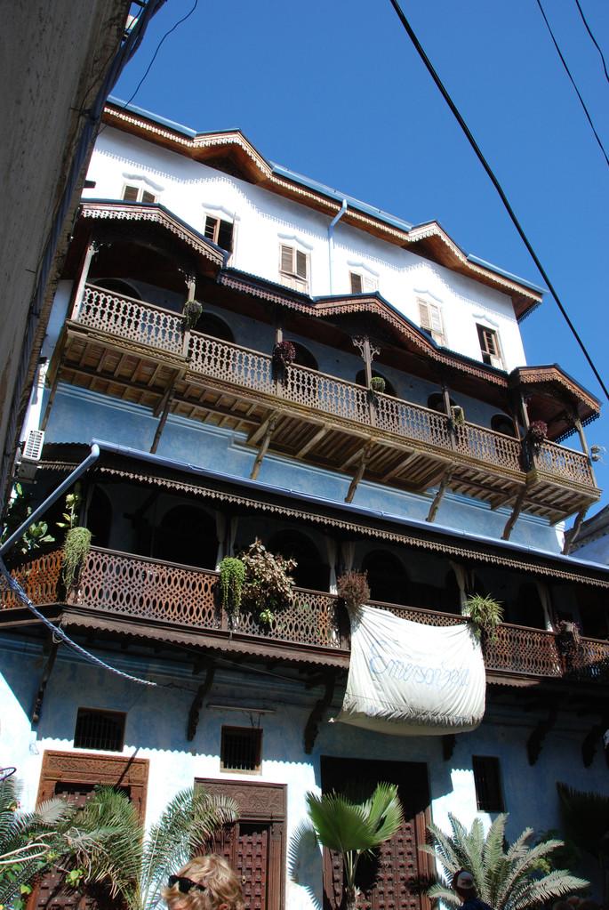 Typische Häuser im arabischen Stil