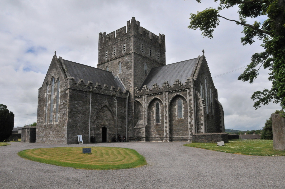 Die Saint Brigid's Cathedral in Kildare