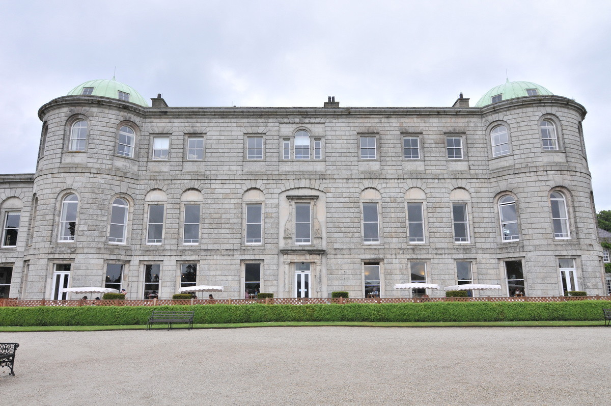 Powerscourt Estate in Enniskerry, County Wicklow