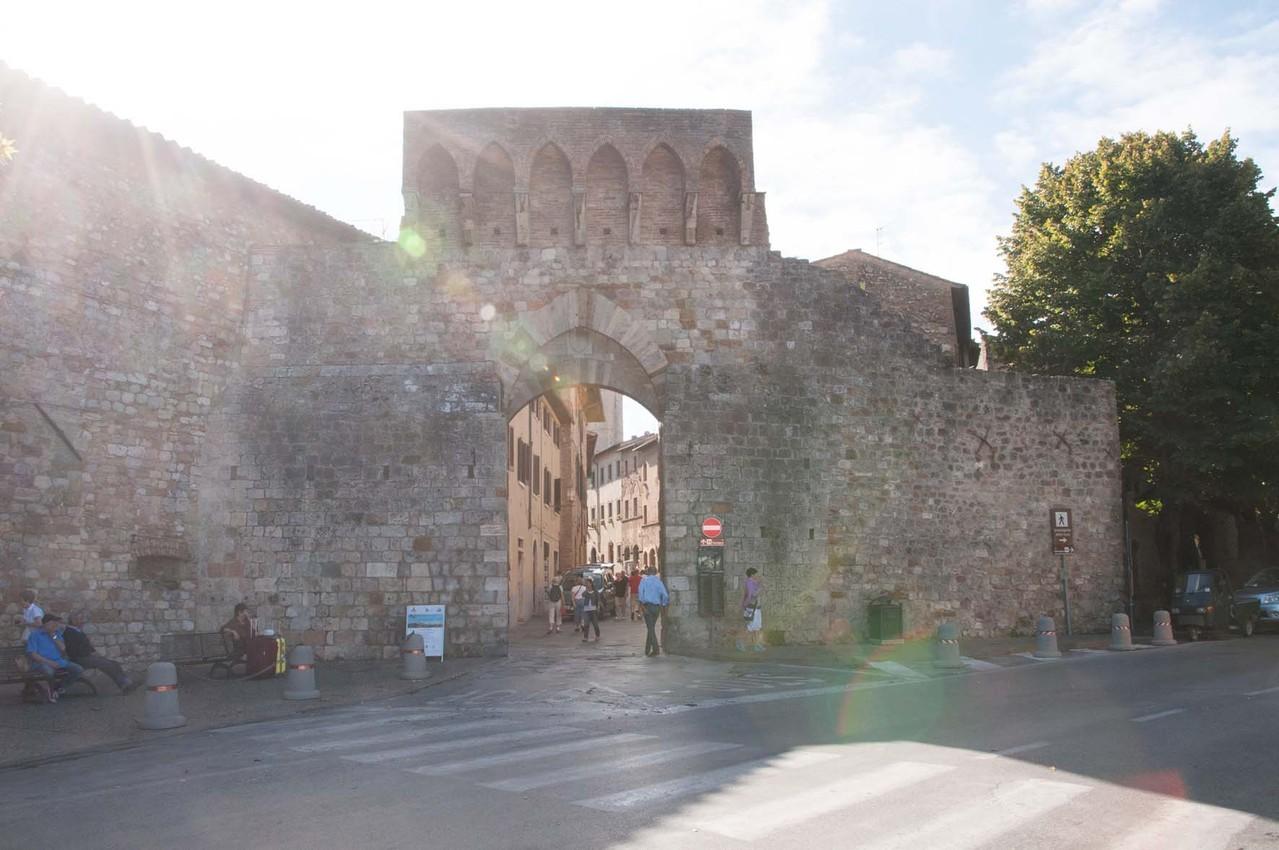 Ausflug nach San Gimignano