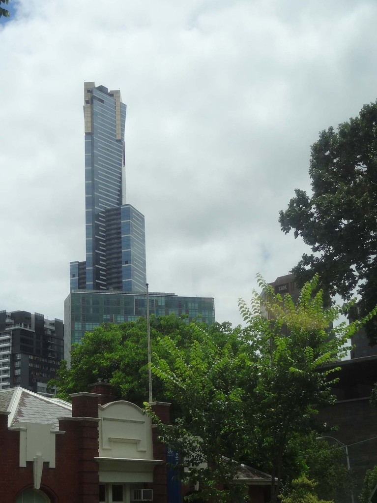 Der Eureka Tower in Melbourne