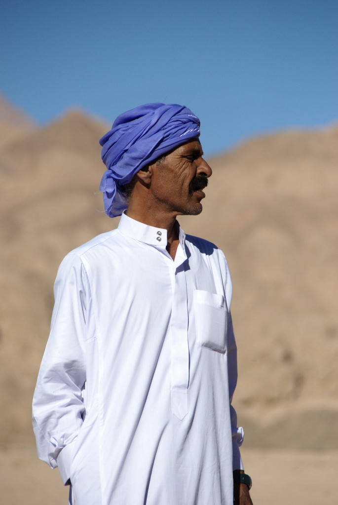 Wie waschen die so sauber in der Wüste?