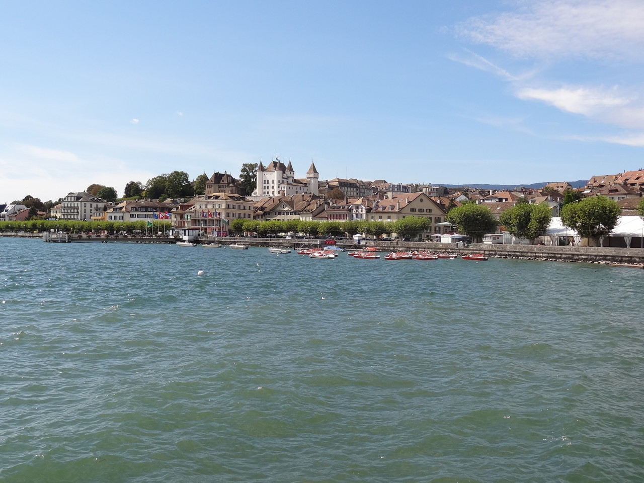 6. Halt in Nyon