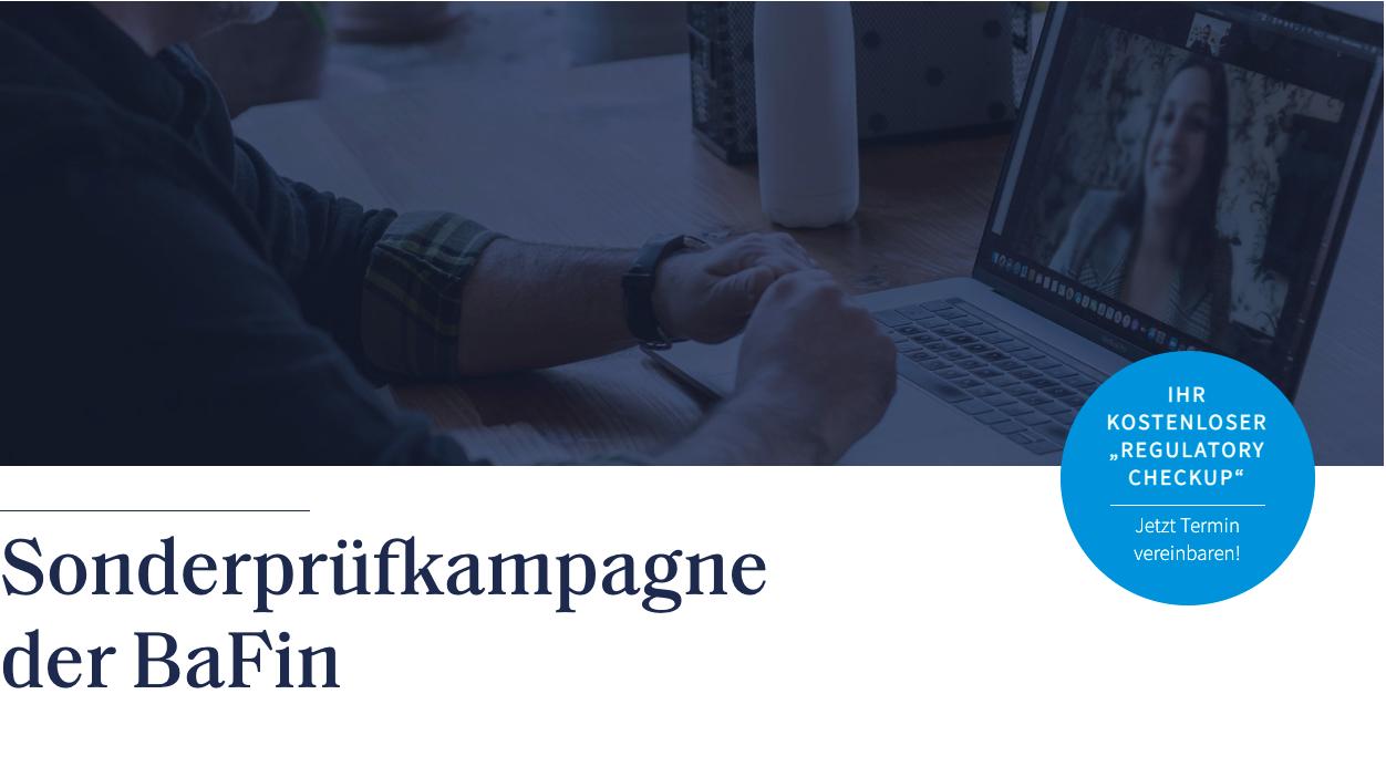 """""""Regulatory Checkup"""" in Zusammenarbeit mit Bette Westenberger Brink Rechtsanwälte"""