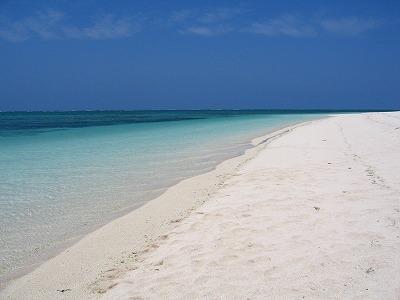 沖縄 久米島 ハテノ浜