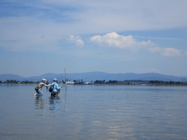 7月浜名湖 フラットなテーリング祭り