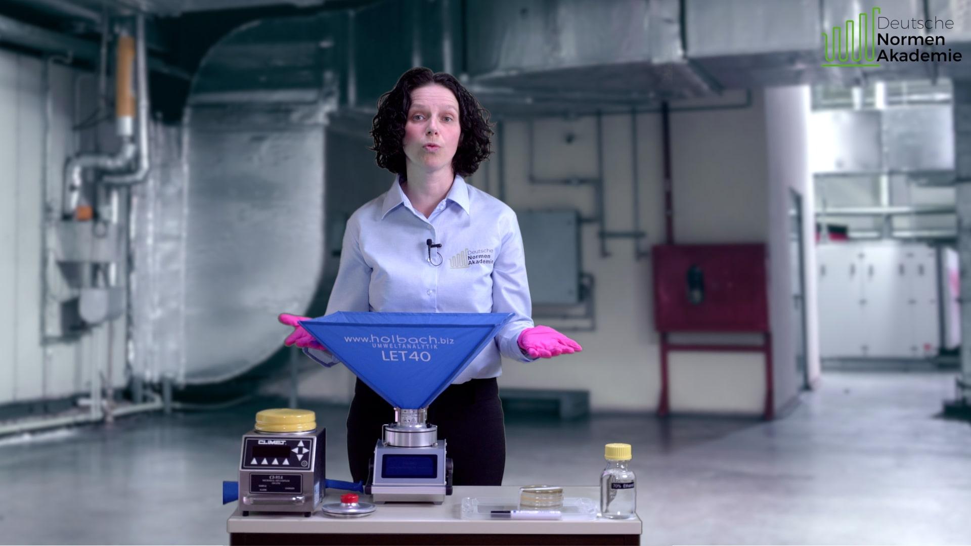 Mirkobiologische Probennahmen: wie zum Beispiel die Luftkeimmessung