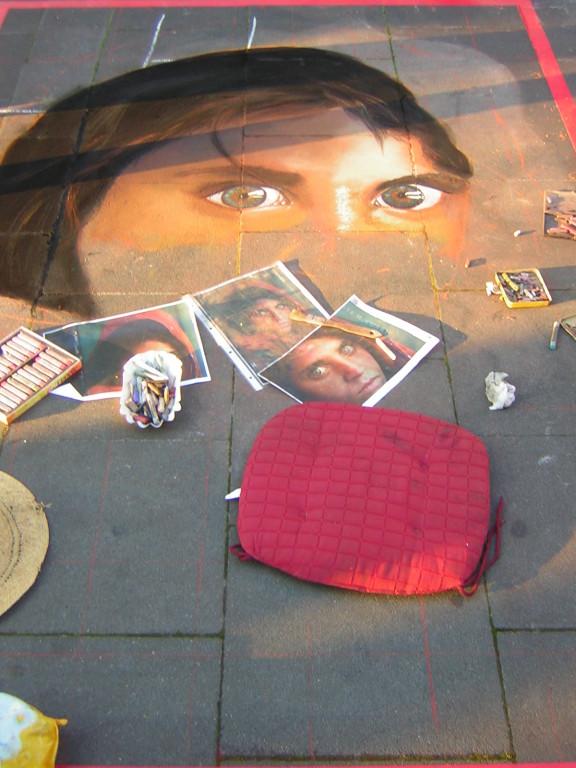 das afghanische flüchtlingsmädchen, geldern 2007, lydia hitzfeld
