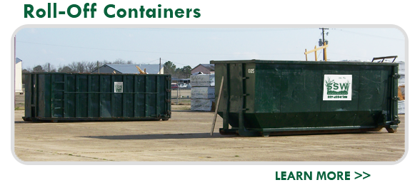 Southern Solid Waste Roll Off Containers