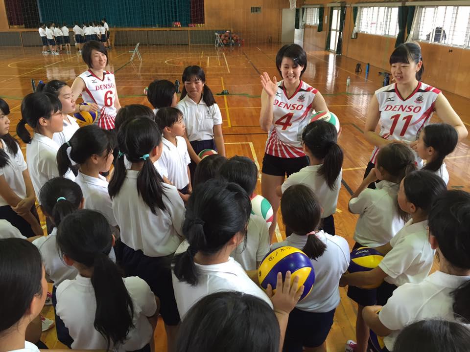 活動の様子 (西尾市立花ノ木小学校)