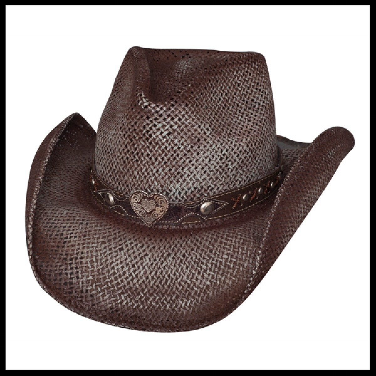 Chapeau western soldes, stars and stripes, line dance country