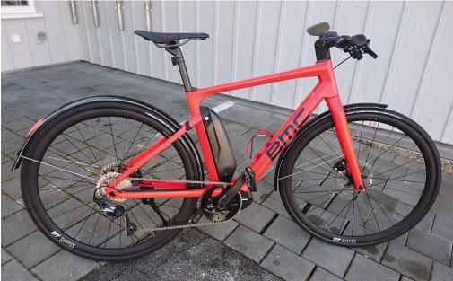 BMC Alpenchallenge AMP E-Bike 14kg!