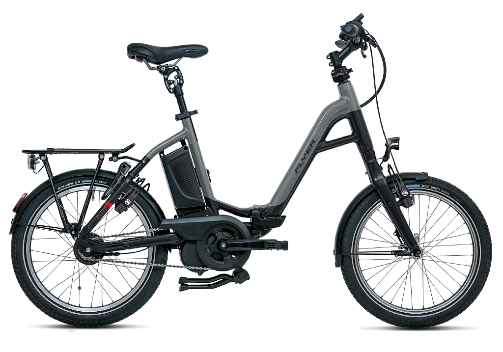 Flyer E-Bike Pluto Tiefeinsteigerrahmen pearl black silver dark cool