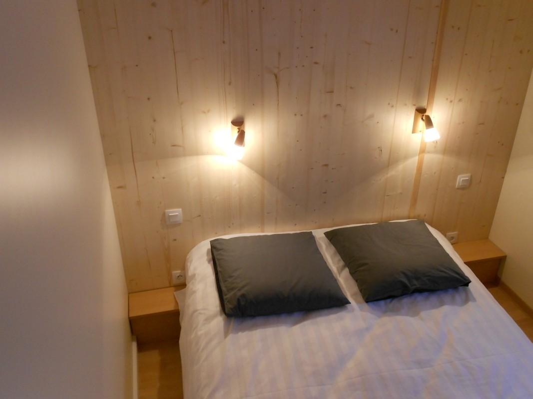 chambre double du chalet montagne