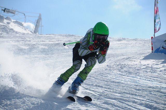 Slalom de ski alpin