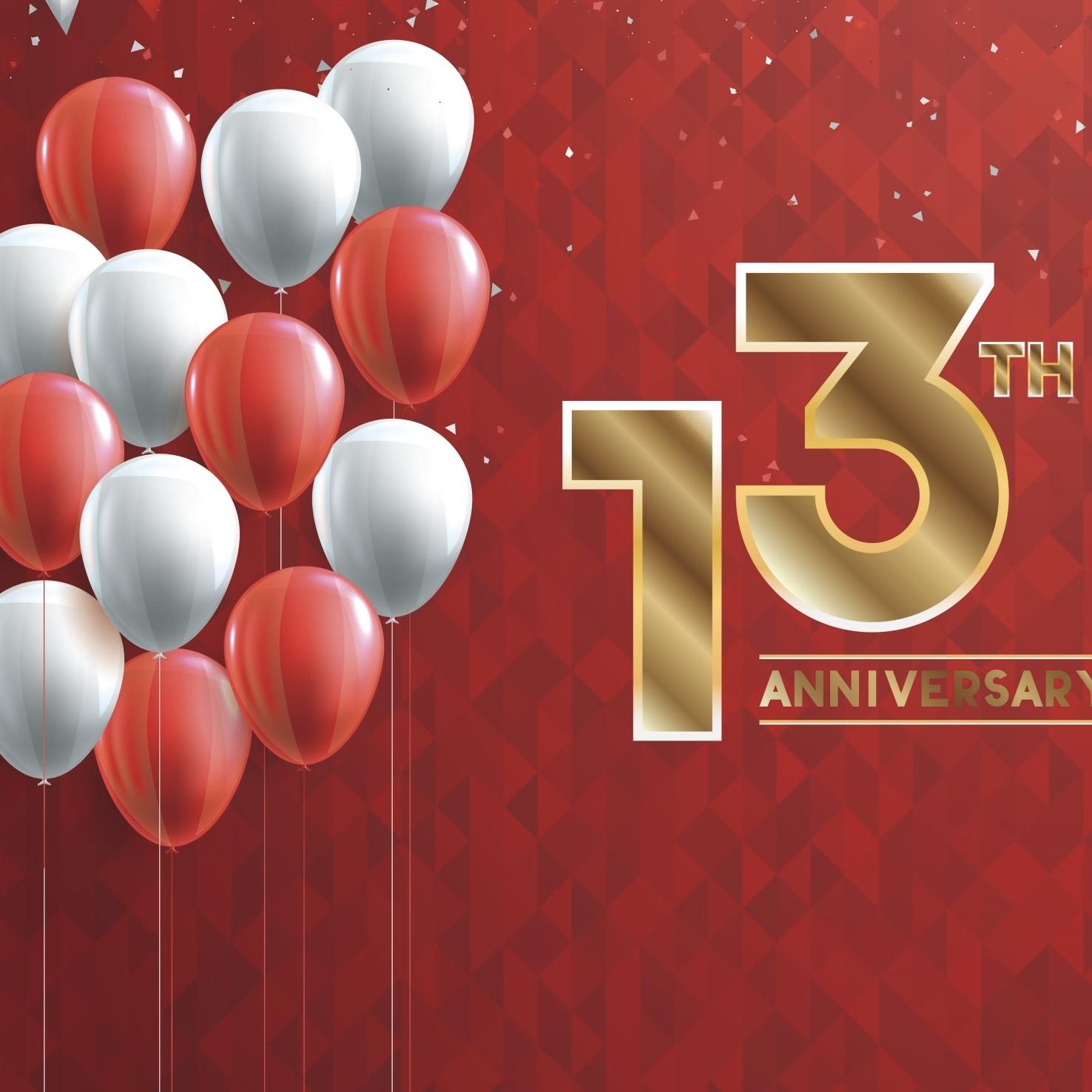 13周年!