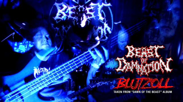 "BEAST OF DAMNATION release videoclip for ""Blutzoll"""