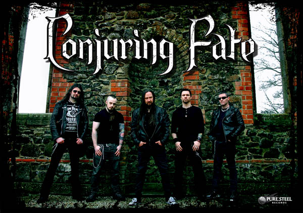 Conjuring Fate, New Album, PURE STEEL records, classic heavy metal, Heavy Metal, Rockers And Other Animals, Rock News, Rock Magazine, Rock Webzine, rock news, sleaze rock, glam rock, hair metal, Valley of Shadows,