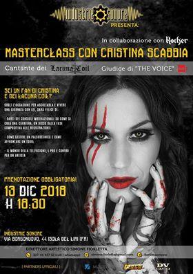 Masterclass with Cristina Scabbia