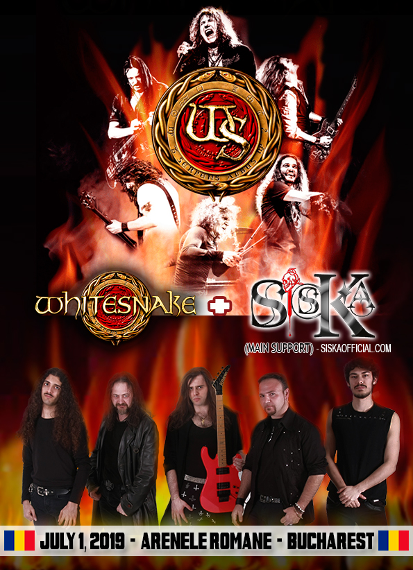 Siska, Whitesnake, Bucharest, live show, Rockers And Other Animals, Rock News, Romantic Dark & Violent, Rock Magazine, Rock Webzine, rock news, sleaze rock, glam rock, hair metal,