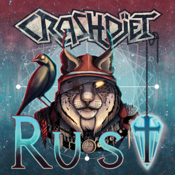 Crashdïet, New Album, Rust, Idiot Tour, Glam, Sleaze Metal, The Cruel Intentions, Highride, News Rockers And Other Animals, Rock News, Rock Magazine, Rock Webzine, rock news, sleaze rock, glam rock, hair metal, heavy metal