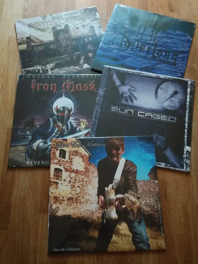 Lion Music, Vinyl, LIMITED EDITION,  Lars Eric Mattsson, Iron Mask, Mastercstle, Sun Caged, Winterlong,News Rockers And Other Animals, Rock News, Rock Magazine, Rock Webzine, rock news, sleaze rock, glam rock, hair metal