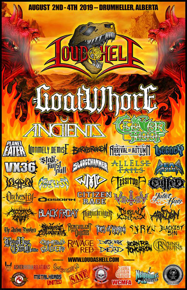 Thrust, Cloven Hoof, Live, Loud As Hell Festival 2019, Pure Steel, NEWS Rockers And Other Animals, Rock News, Rock Magazine, Rock Webzine, rock news, sleaze rock, glam rock, hair metal