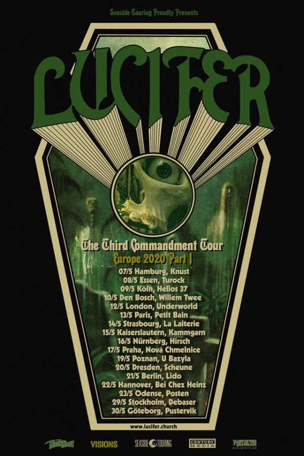 LUCIFER , New Track ,  Video, Midnight Phantom, Lucifer III, news, rockers and other animals,