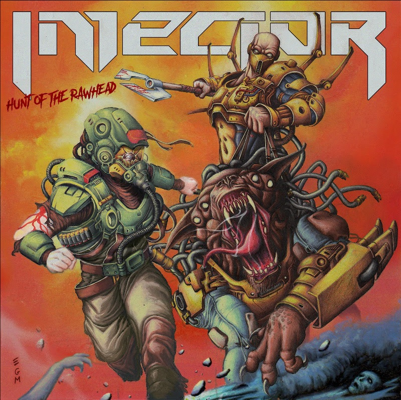 """Technical Thrash Metal act Injector unveils details of their third and upcoming album """"Hunt of the Rawhead"""", rockers and other animals"""