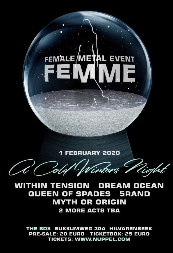 Female Metal Event, 5RAND, Melodic Death Metal, rockers and other animals, news