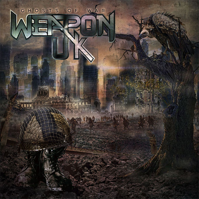 WEAPON UK, official video, Ghosts Of War, news, rockers and other animals