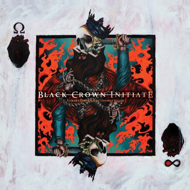 Invitation, BLACK CROWN INITIATE, new single, new album, Progressive Metal, Death Metal, Portraits of the Doomed Escape, Century Media Records, Rockers And Other Animals, News
