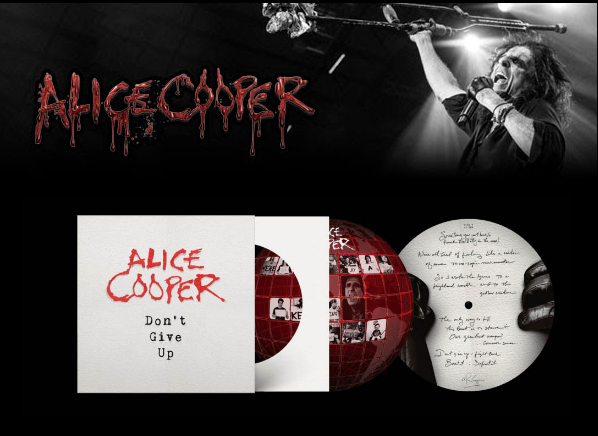 Alice Cooper, Limited-Edition 'Don't Give Up' rockers and other animals
